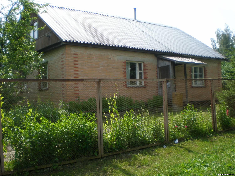 Продам кирпичный дом в деревне 120 м2.  Каширка 80км.